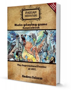 pariah RPG book mock up