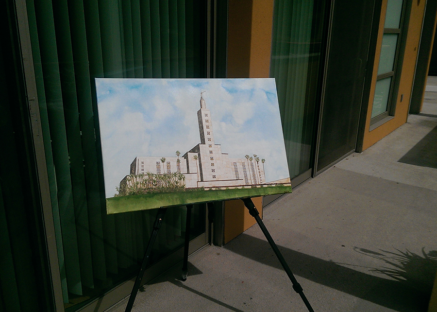 lds temple outside