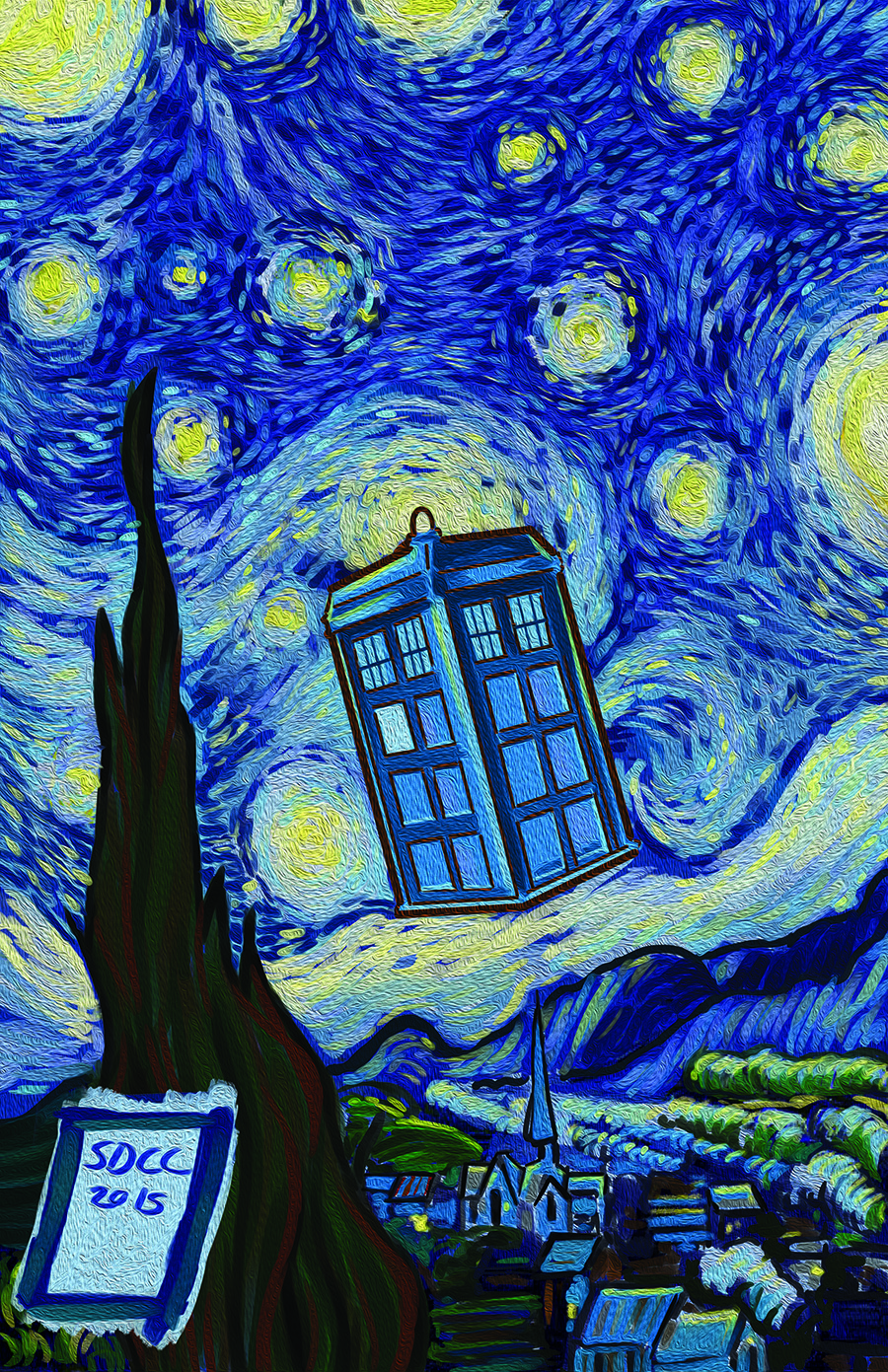 tardis paitning for web