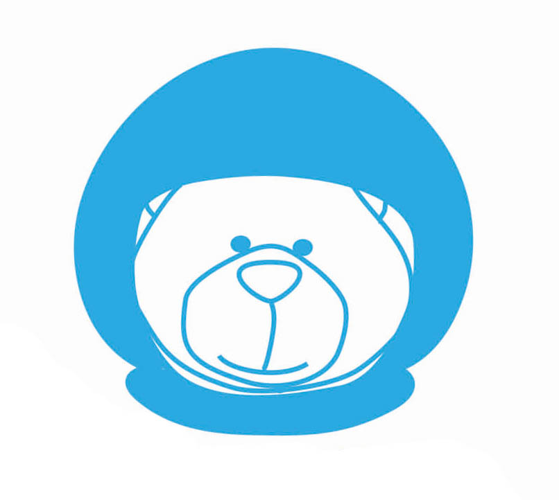 space-bear-head-logo-wordpress-icon